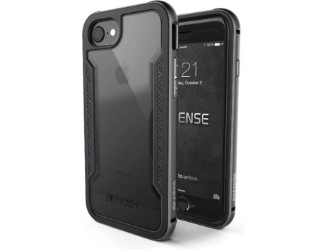 Capa XDORIA Defense Apple iPhone 7, 8 Cinza — Compatibilidade: iPhone 7, 8