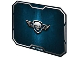 Tapete de Rato Gaming SPIRIT OF GAMER Wing Skull — Azul