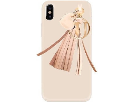 Capa TRUSSARDI Charms Sand iPhone X — Compatibilidade: iPhone X