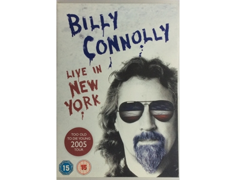 DVD Billy Connolly - Live In New York