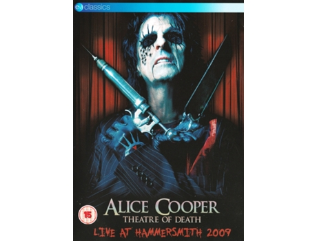 DVD Alice Cooper  - Theatre Of Death - Live At Hammersmith 2009