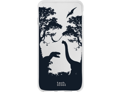 Capa Motorola Moto One Zoom TECHCOOL Jurassic World Transparente