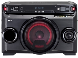 Sistema Audio LG OM4560 — 220 W | MP3, WMA, CD | USB