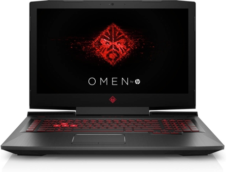 Portátil Gaming 17,3'' Omen by HP 17-an102np — Intel Core i7-8750H | 16 GB | 256 GB SSD | NVIDIA GeForce GTX 1060