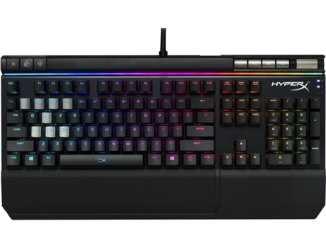Teclado Gaming HYPERX by Kingston Alloy Elite RGB HX-KB2BL2-US/R1 — Com fio USB | Mecânico | Layout US