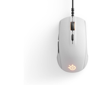Rato Gaming SteelSeries Rival 110 em Branco — Com fios