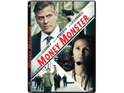 DVD Money Monster — De: Jodie Foster | Com:  George Clooney, Julia Roberts, Jack O'Connell