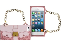 Capa MAIWORLD Clochet iPhone 5, 5s, SE Rosa — Compatibilidade: iPhone 5, 5s, SE