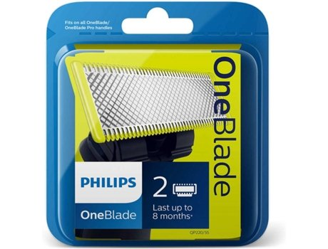 Lâmina PHILIPS One Blade QP220/55 — Compatibilidade: One Blade