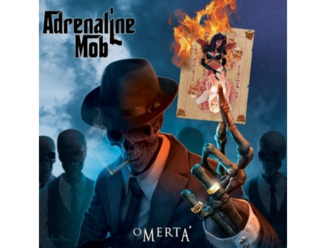 CD Adrenaline Mob - Omertá