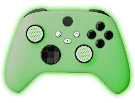 FR-TEC - Xbox Series X Silicone Skin + Grips - Glow In The Dark