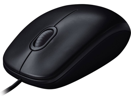 Rato LOGITECH M100 (Cabo USB - Ótico - 1000 dpi - Cinzento) | [6119465 ]