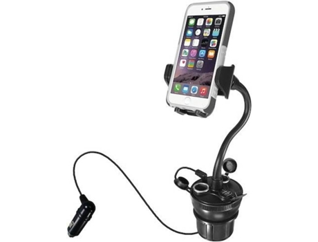 Suporte USB MACALLY Car Cup Holder — Compatibilidade: Universal