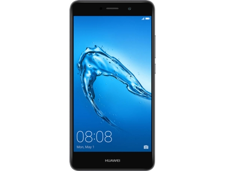 "Smartphone HUAWEI Y7 16GB Cinzento — Android 7.0 / 4G / 5.5"" / MSM8940, Octa-Core 4x1.4Ghz"