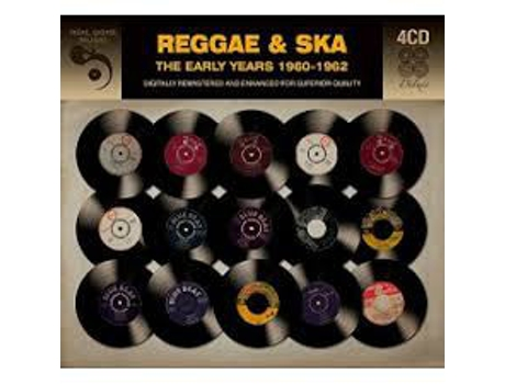 CD Reggae & Ska (The Early Years 1960-1962)