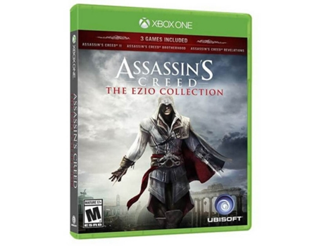 Jogo Xbox One Assassin´s Creed: The Ezio Collection — Ação/Aventura