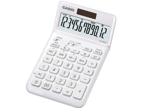 Calculadora Básica CASIO JW-200SC-WE — Básica