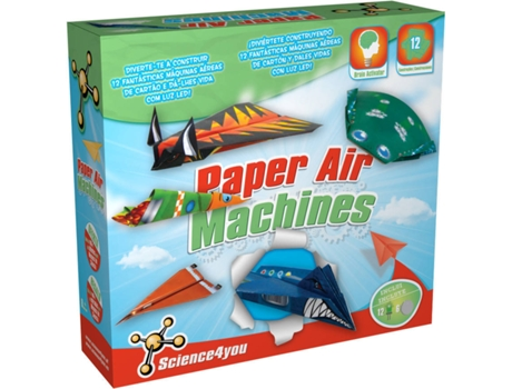 Kit Science4You Paper Air Machines — Science4You