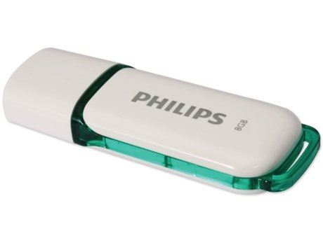 Pen USB PHILIPS Key Snow - 8GB — 8 GB | USB 2.0