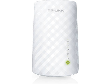 Repetidor de Sinal TP-LINK RE200 (AC750 - 300 + 433 Mbps) — Dual Band | 750 Mbps