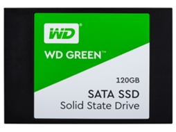Disco SSD 2.5'' WESTERN DIGITAL Green 120GB 3D Wds120G2G0A — 2.5'' | 120 GB | SATA