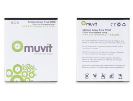 23115eb0248 Bateria MUVIT Galaxy Trend e Plus - WORTEN