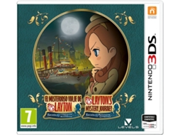 Jogo Nintendo 3DS Layton's Mystery Journey: Katrielle and the Millionaires' Conspiracy — Ação/Aventura