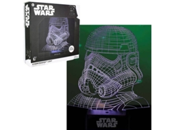 Candeeiro 3D USB STAR WARS Stormtrooper — Star Wars