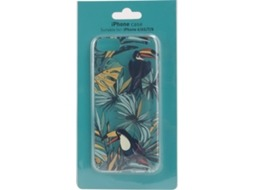 Capa KUNFT tropical iPhone 6, 6s, 7, 8 Multicor — Compatibilidade: iPhone 6, 6s, 7, 8
