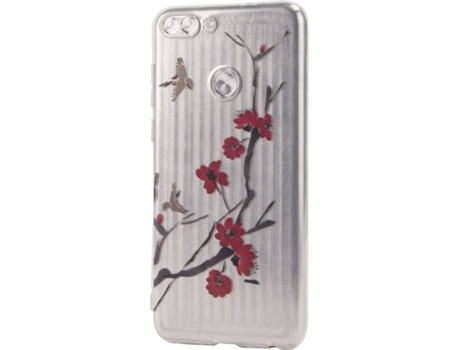 Capa KUNFT flowers Huawei P Smart Multicor — Compatibilidade: Huawei P Smart