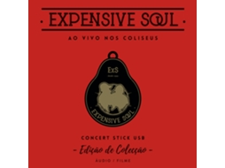 CD/DVD Expensive Soul - Ao Vivo no Coliseu — Portuguesa
