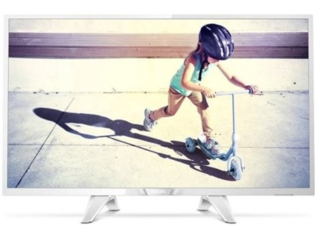 TV LED 32'' PHILIPS 32PHT4032 BRANCO — HD