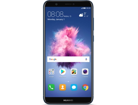 Smartphone HUAWEI PSmart 32GB Azul — Android 8.0 / 5.65'' / Octa-core 4x2.36 + 4x1.7 GHz / 3GB RAM / Dual SIM