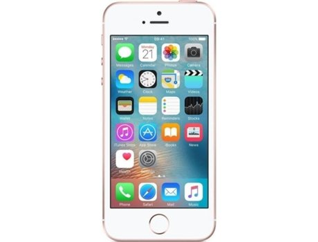 876e91e2dd5 iPhone SE Recondicionado - APPLE Grade A (4'' - 2 GB - 16 GB - Rosa Dourado)