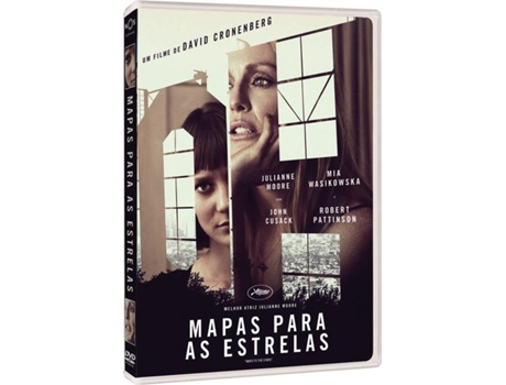 DVD Mapas para as Estrelas — De: David Cronenberg | Com: Julianne Moore, Mia Wasikowska, Robert Pattinson