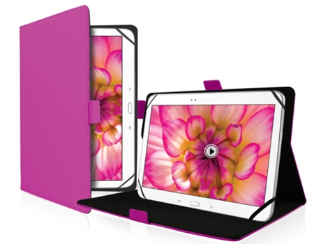 Capa Tablet 10'' SBS Universal Bookstyle — 10'' | Rosa
