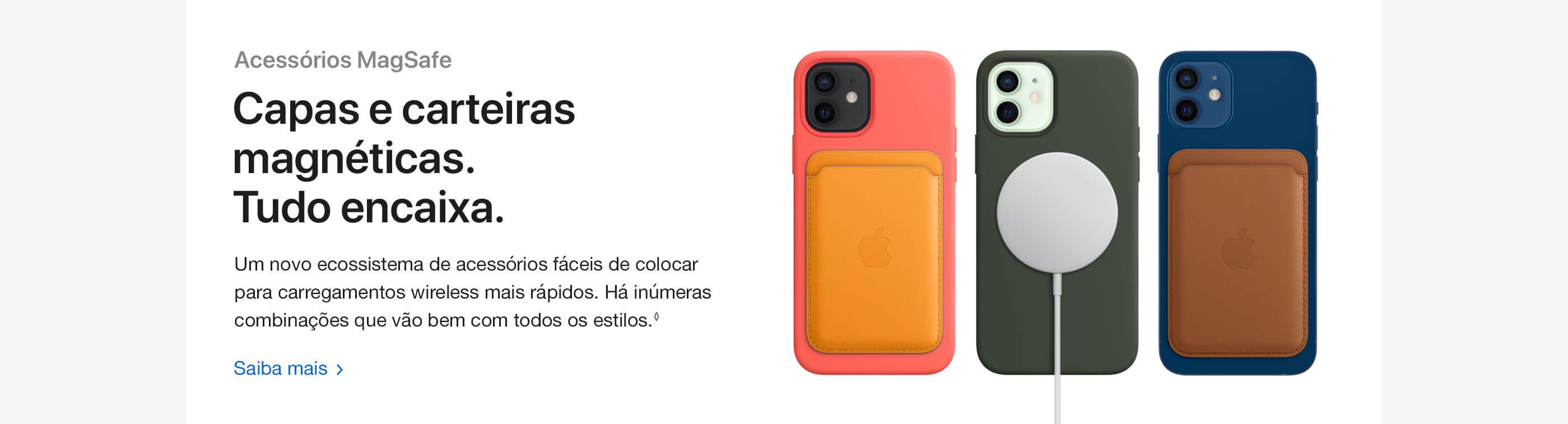iPhone 12 e iPhone 12 Mini Acessórios MagSafe