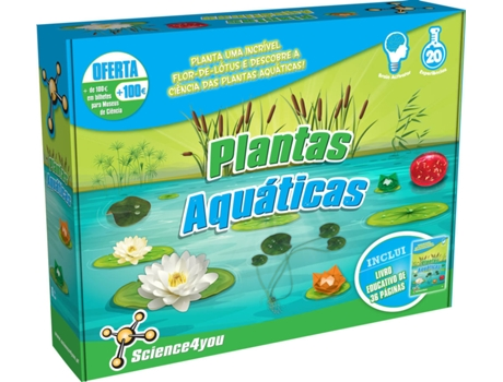Kit Science4You Plantas Aquáticas — Science4You