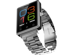 Smartwatch NO.1 G7 Metal Prata — 380mAH