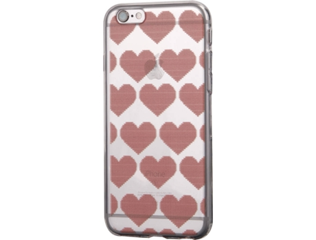 Capa KUNFT Christmas Hearts iPhone 6, 6s — Compatibilidade: iPhone 6, 6s
