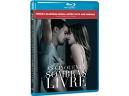 Blu-Ray Cinquenta Sombras Livre — De: James Foley | Com: Dakota Johnson, Jamie Dornan, Eric Johnson