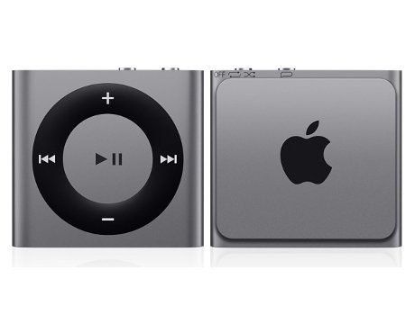 Leitor MP3 APPLE iPod Shuffle 2GB Space Gray — 2GB / USB
