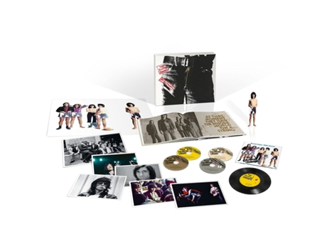 CD/DVD/LP  The Rolling Stones  Sticky Fingers deluxe — Pop-Rock