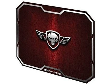 Tapete Rato Gaming SPIRIT OF GAMER Wing Skull Vermelho — Vermelho