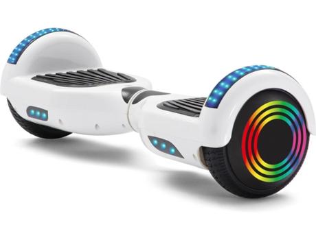 Hoverboard E Rides 6 5tl Prancha Pura Autonomia 2 H Velocidade Máx 12 Km H Worten Pt