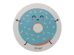 Tapete de Rato MR.WONDERFUL Padrão Rosquilha — 20 x 20 cm