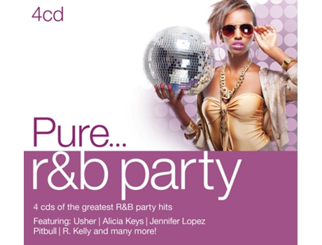 CD Various Pure... R&B Party — Pop-Rock