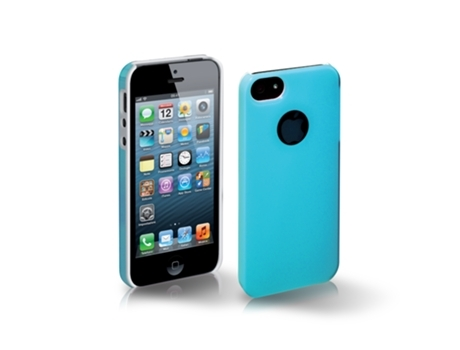 Capa SBS Glass iPhone 5, 5s, SE Azul — Compatibilidade: iPhone 5, 5s, SE