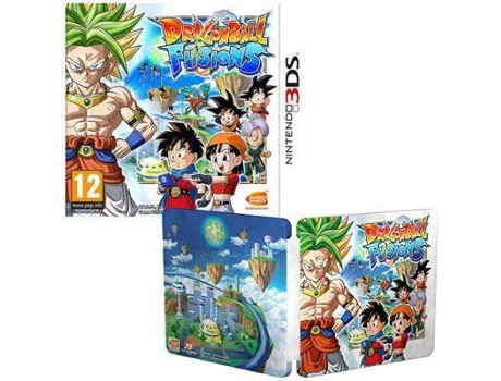 Jogo Nintendo 3DS Dragon Ball Fusions (Steelbook Edition)