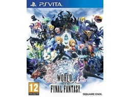Jogo PS Vita World of Final Fantasy — RPG | Idade mínima recomendada: 16